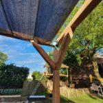 Constructie terras overkapping